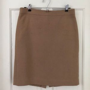 J. Crew Factory Camel Pencil Skirt